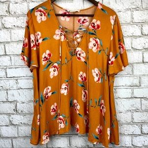 By Together rayon top!
